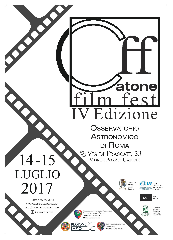 Catone Film Festival 2017 - IV° edizione