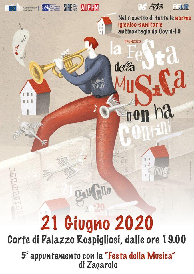 FESTA DELLA MUSICA 2020 - DOMENICA 21 GIUGNO, CORTE DI PALAZZO ROSPIGLIOSI
