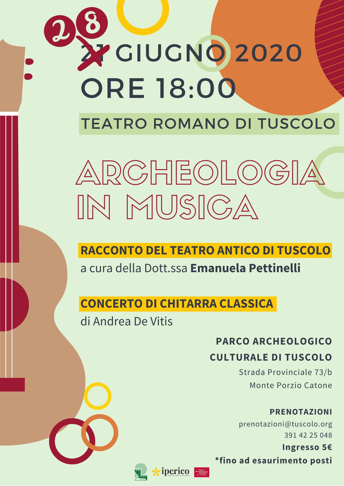 ARCHEOLOGIA IN MUSICA A TUSCOLO