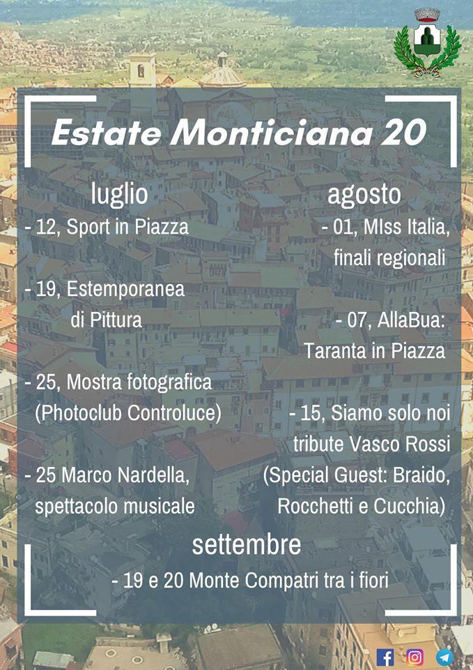 ESTATE MONTICIANA 2020