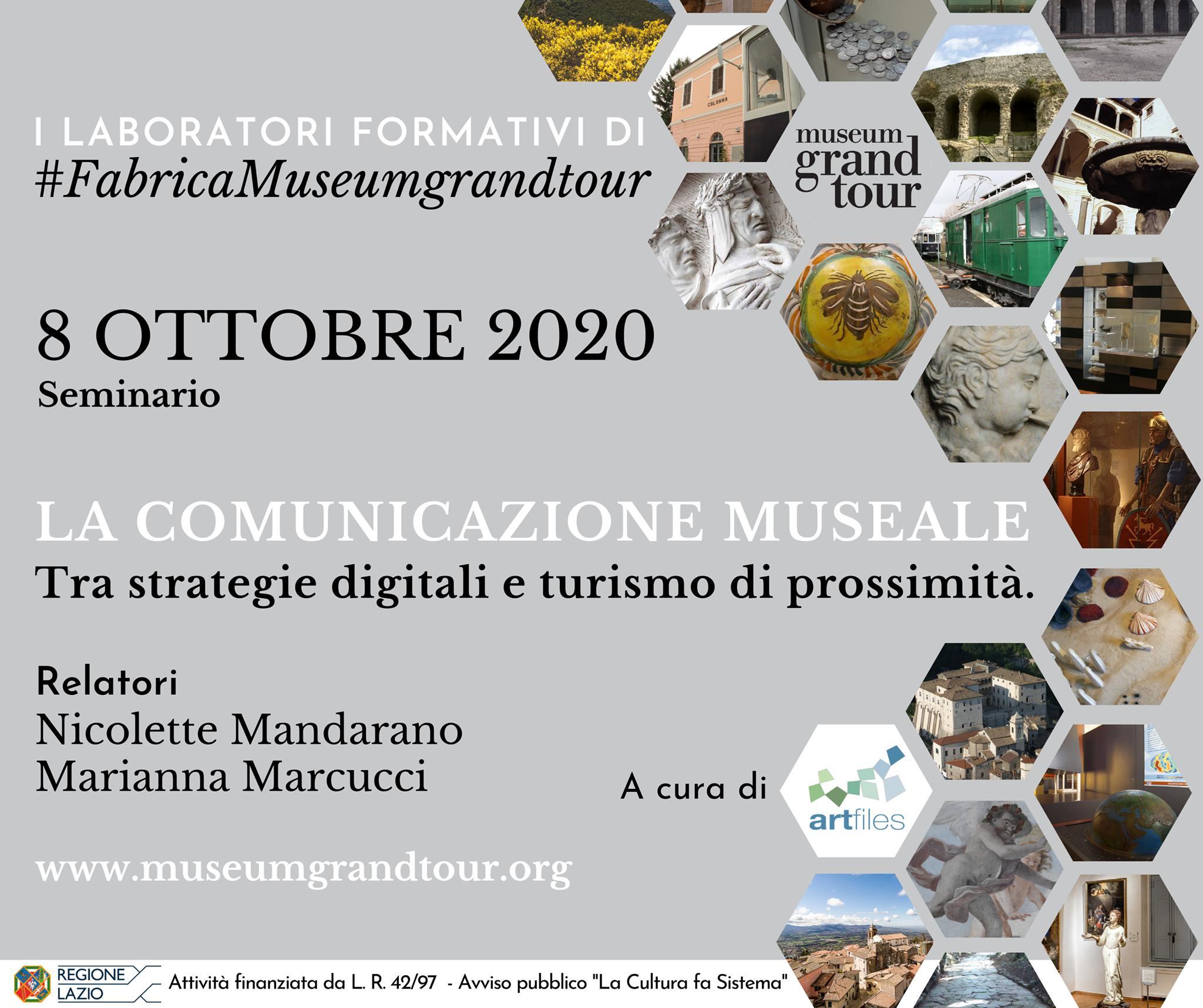 Riprendono i seminari di #FabricaMuseumGrandTour