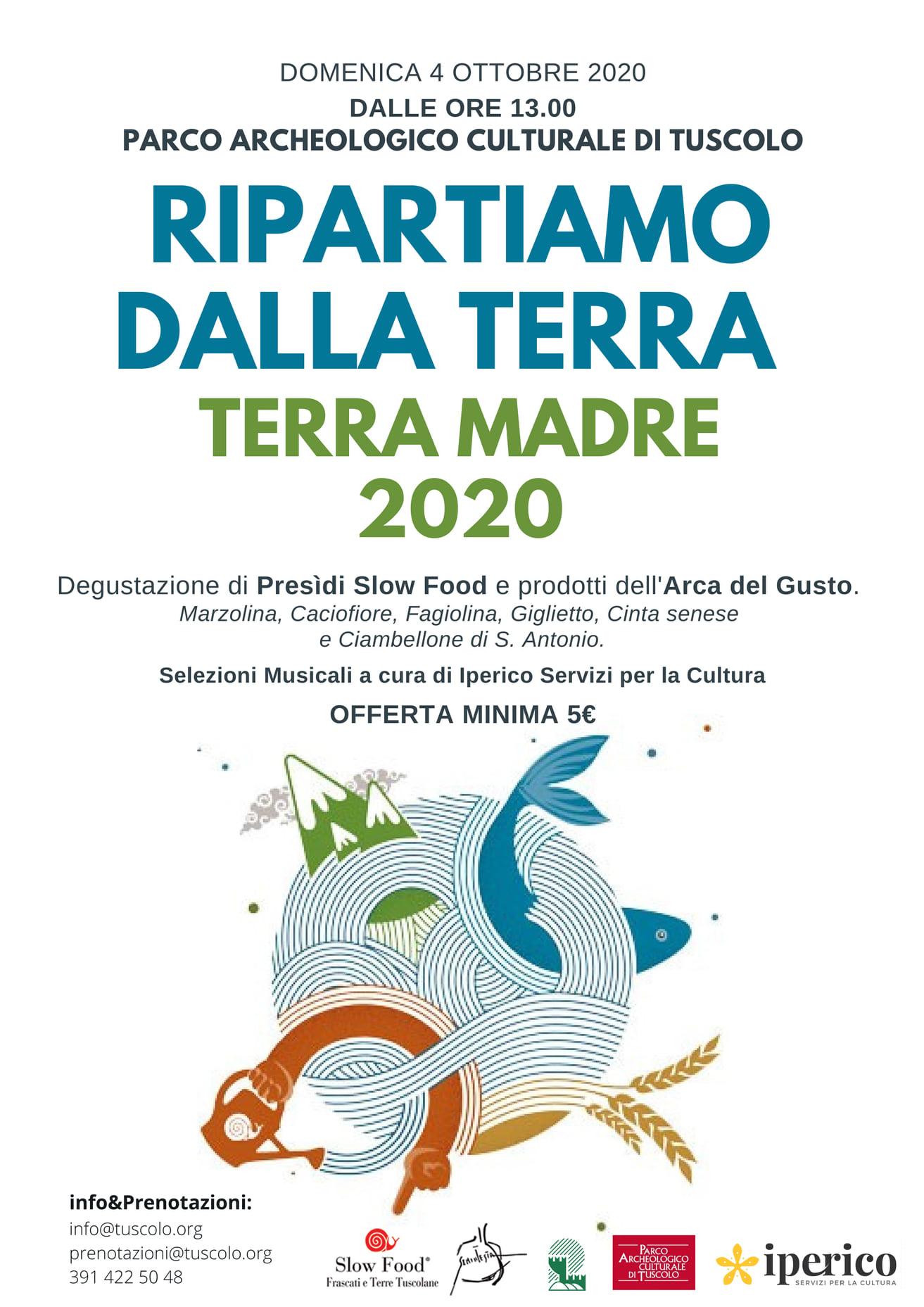 RIPARTIAMO DALLA TERRA - TERRA 2020
