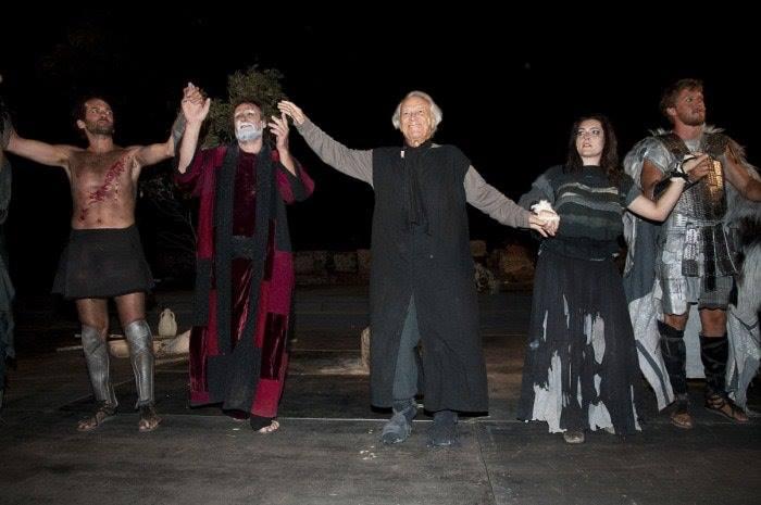 Gli studenti a Tuscolo, portano in scena il teatro classico