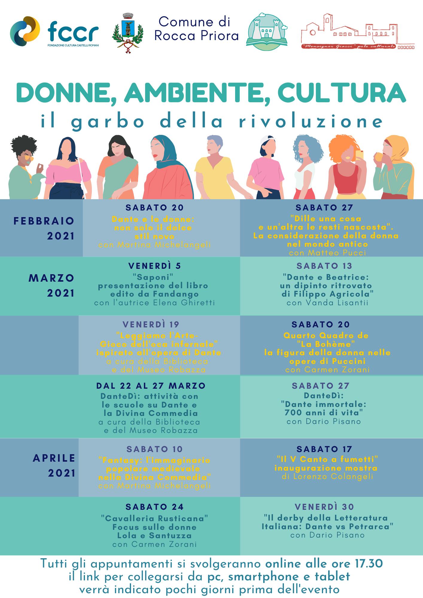 Donne, ambiente, cultura. Il garbo della rivoluzione, nuova rassegna a Rocca Priora
