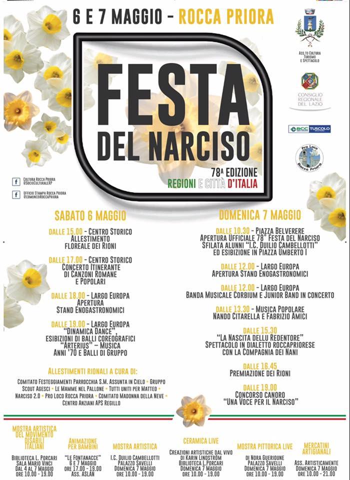 FESTA DEL NARCISO A ROCCA PRIORA