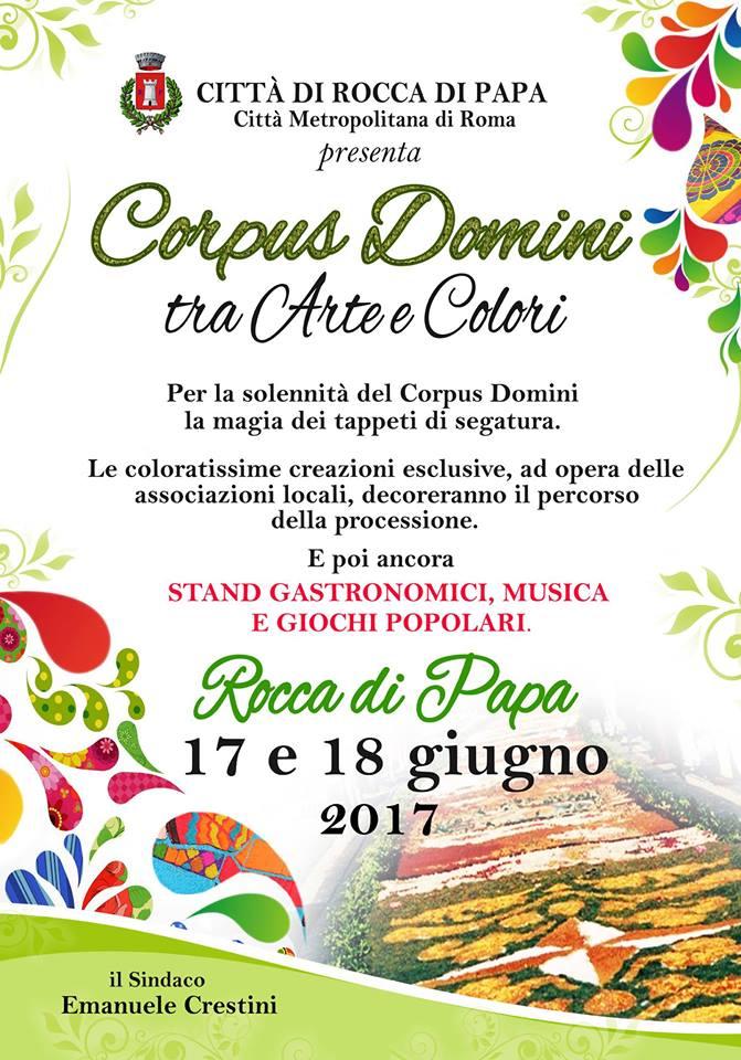 Corpus Domini tra arte e colori