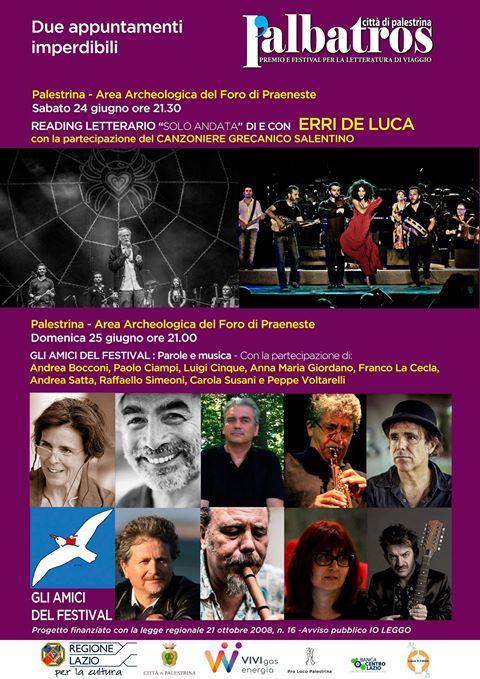 Premio l'Albatros Città di Palestrina 2017