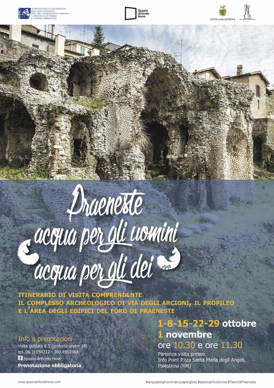 Visite guidate a Palestrina