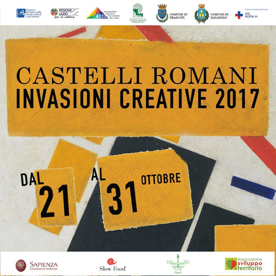 Dal 21 al 31 ottobre riprendono le Invasioni Creative