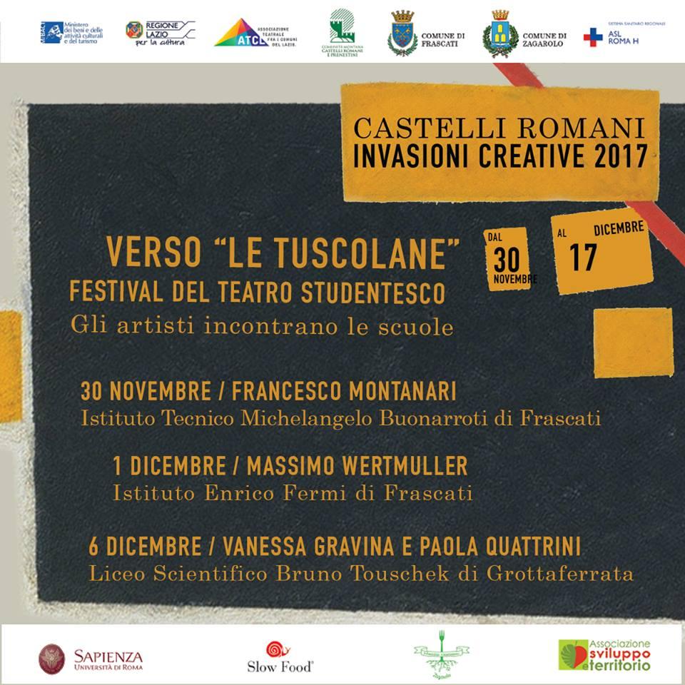 Invasioni Creative 2017 - Verso le Tuscolane