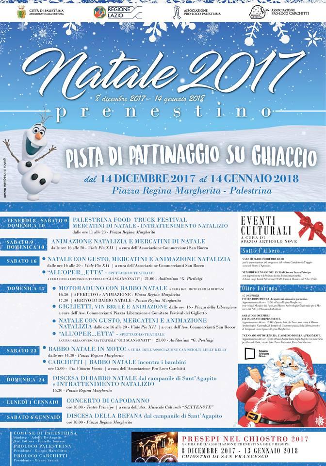 Natale 2017 a Palestrina