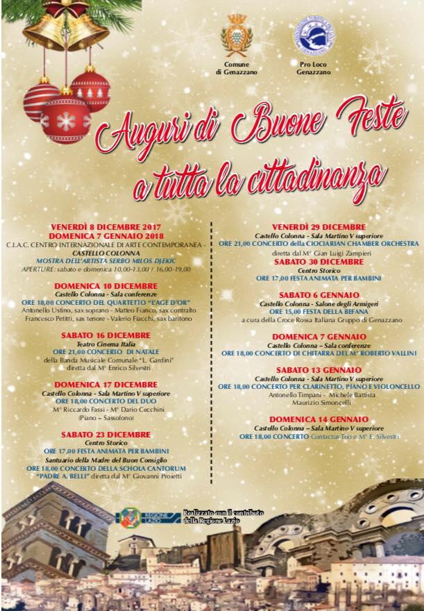 Natale 2017 a Genazzano