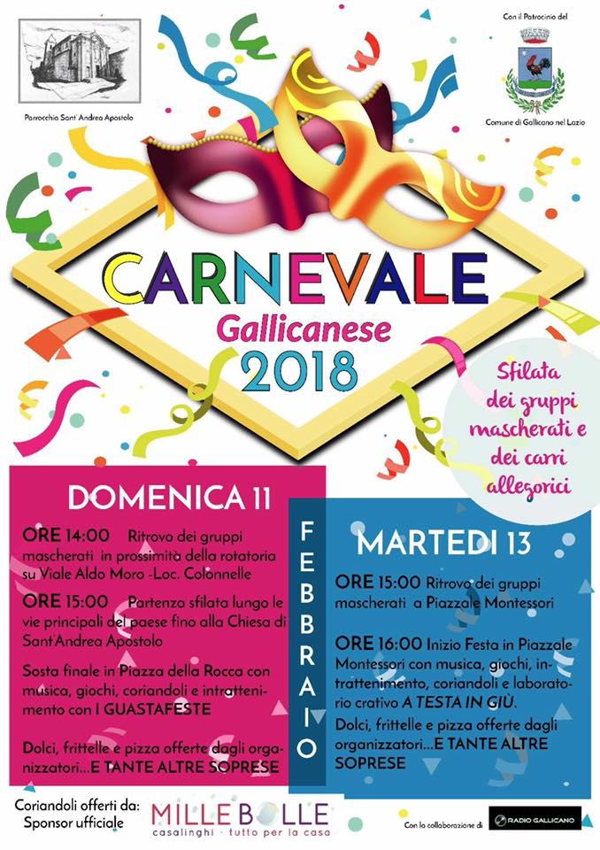 Carnevale a Gallicano nel Lazio