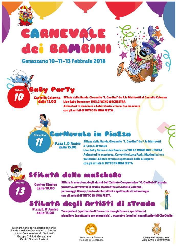 Carnevale a Genazzano