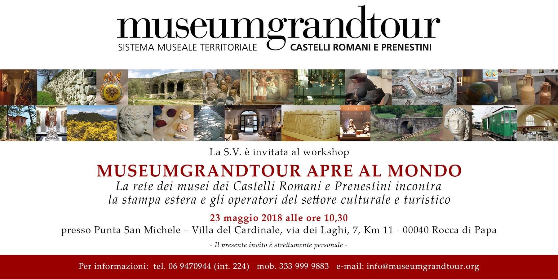 MUSEUMGRANDTOUR APRE AL MONDO