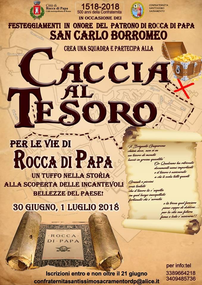 Caccia al tesoro per le Vie di Rocca di Papa