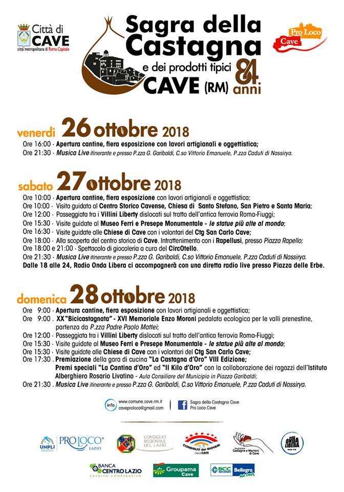 Sagra delle Castagne a Cave