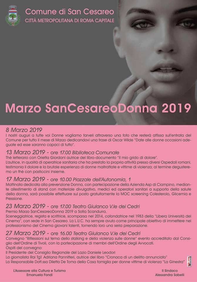 Marzo - San Cesareo Donna