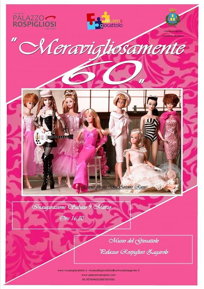 Meravigliosamente 60, io sono così - Barbie in mostra a Zagarolo