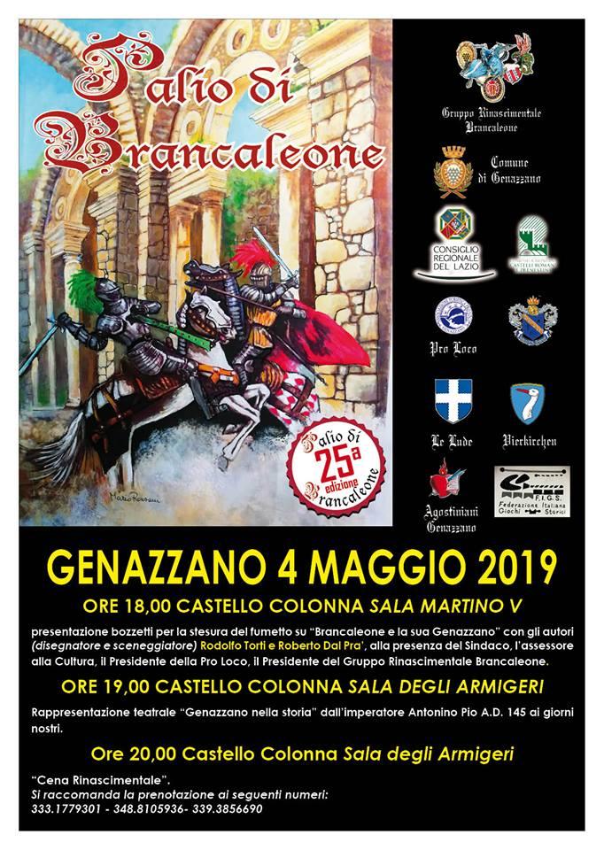 25° edizione del palio di Brancaleone a Genazzano