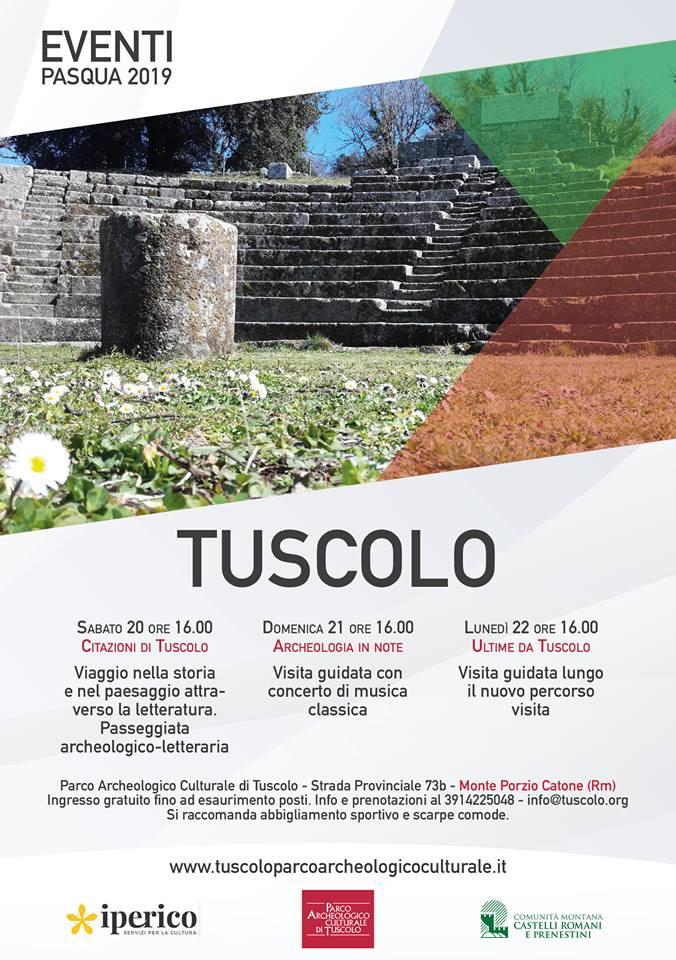 A Pasqua vieni Tuscolo!
