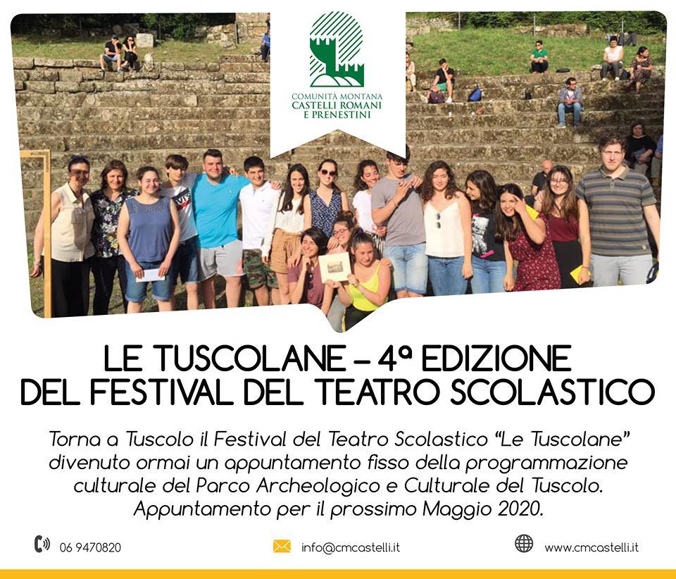 LE TUSCOLANE - 4ª EDIZIONE DEL FESTIVAL DEL TEATRO SCOLASTICO