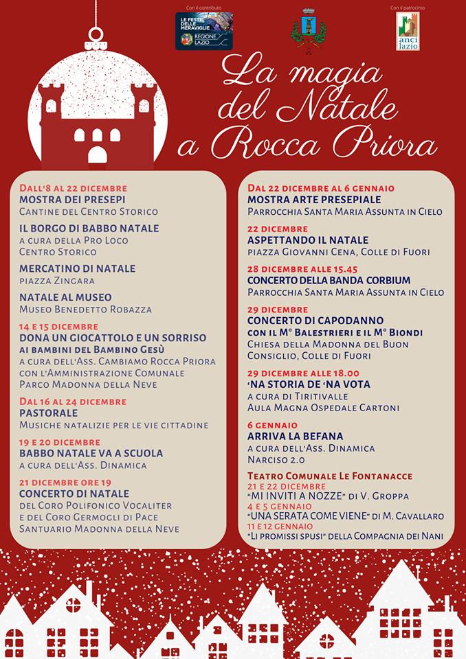 Natale a Rocca Priora