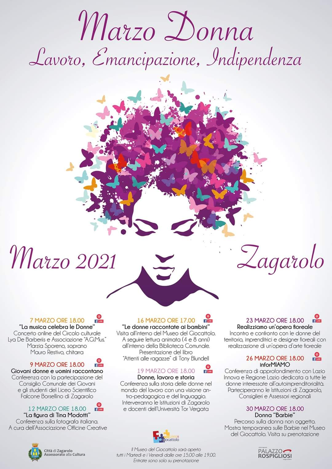 MARZO DONNA 2021 A ZAGAROLO