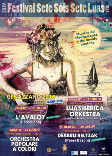 Festival 7 Sois 7 Luas a GENAZZANO