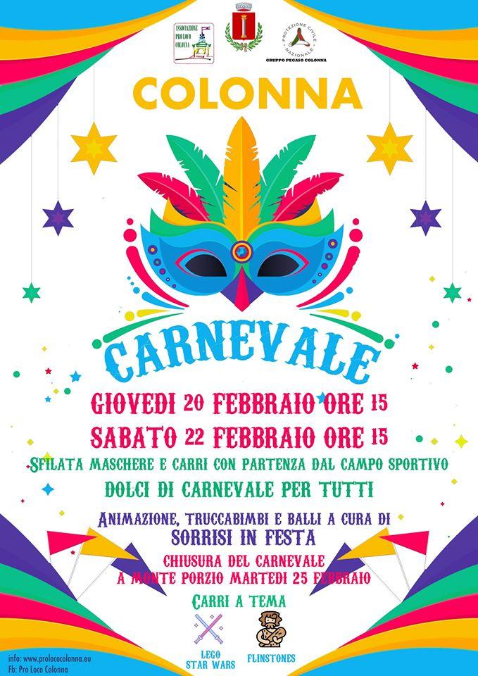 Carnevale a Colonna
