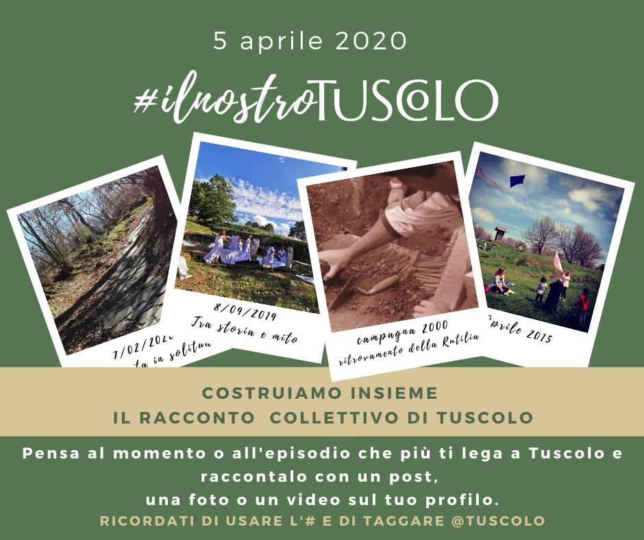 DOMENICA 5 APRILE  #ilnostroTuscolo