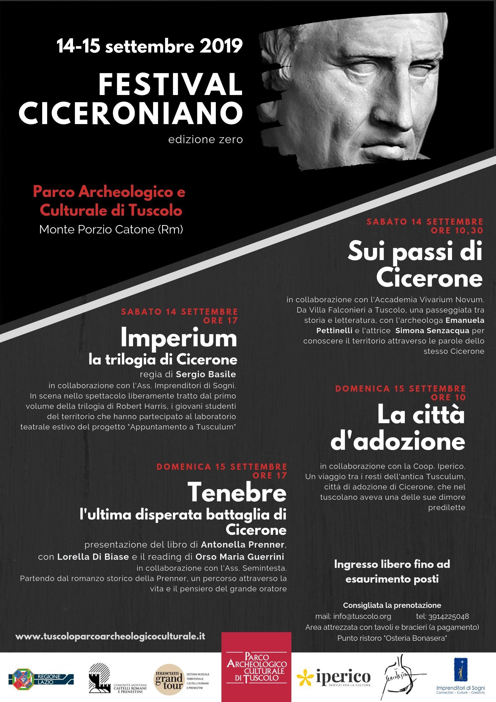 FESTIVAL CICERONIANO AL TUSCOLO