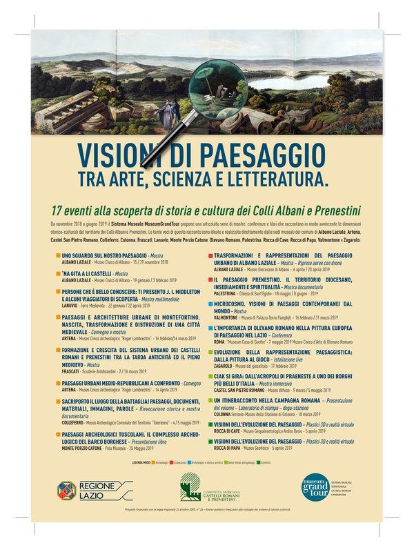 VISIONI DI PAESAGGIO - LA MOSTRA DEL GRANDTOUR
