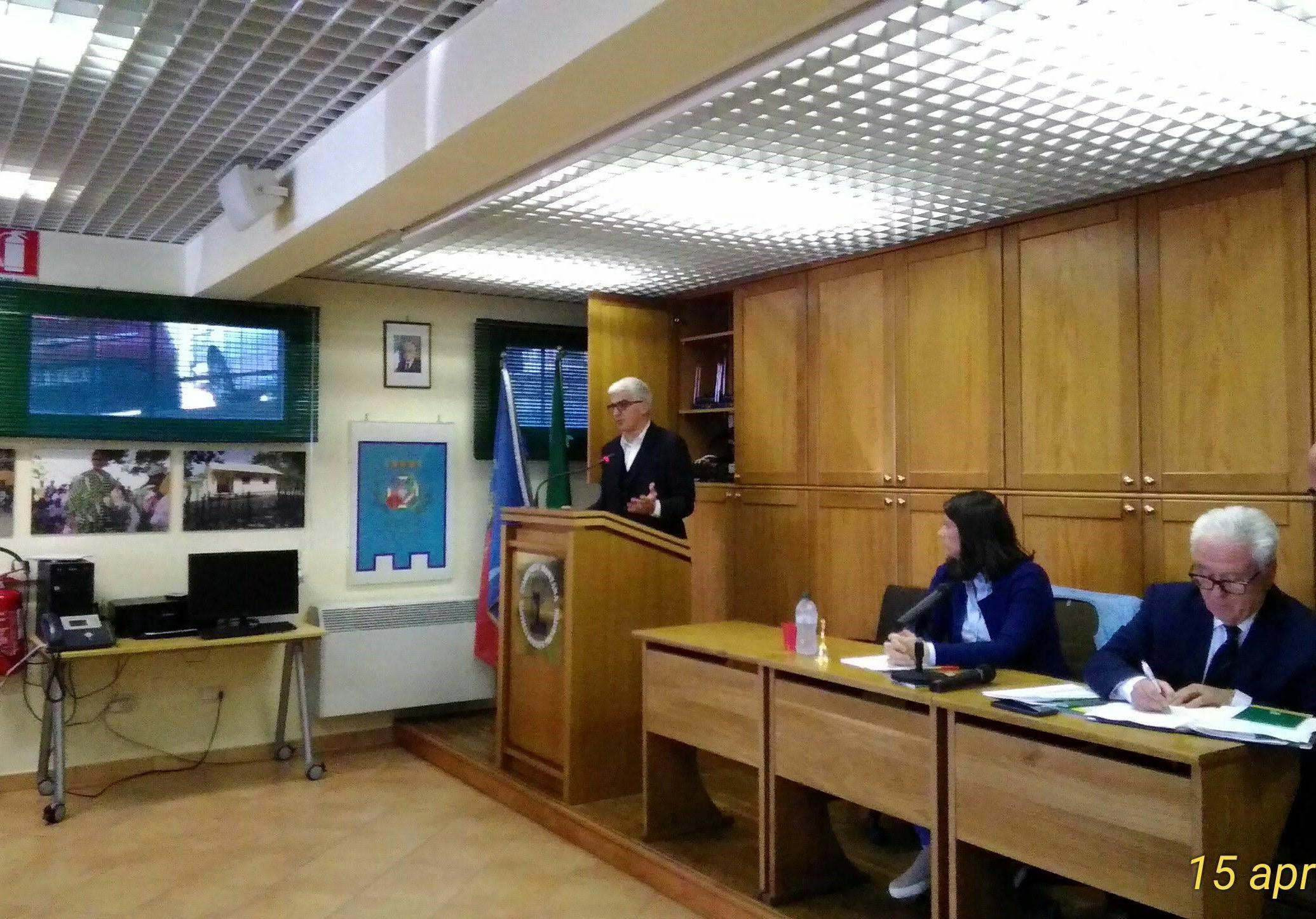 Danilo Sordi, neo Presidente della Comunità Montana Castelli Romani e Prenestini, traccia le linee del nuovo corso