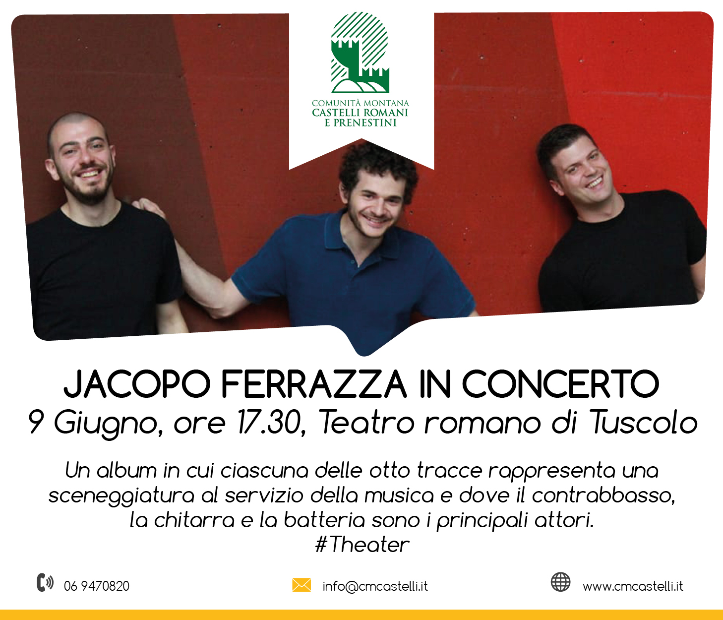 Jacopo Ferrazza in concerto