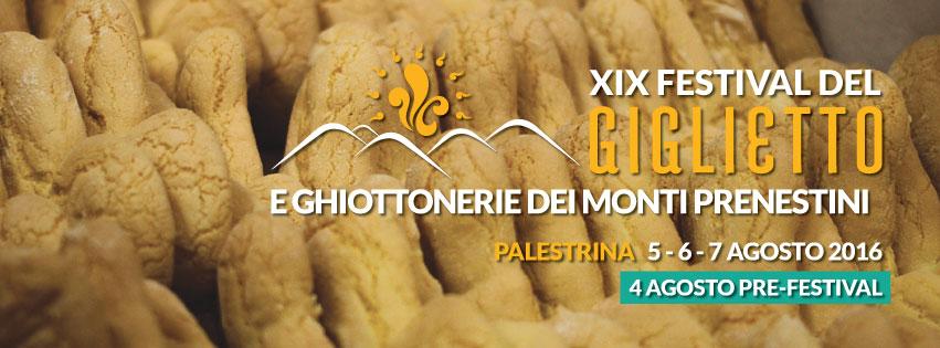 torna il FESTIVAL del GIGLIETTO a Palestrina
