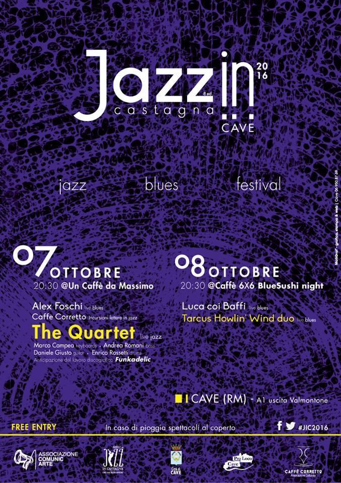 Cave - Jazz In Castagna 2016