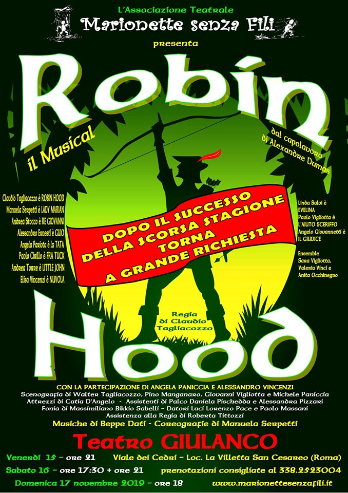 Robin Hood - Il musical a San Cesareo